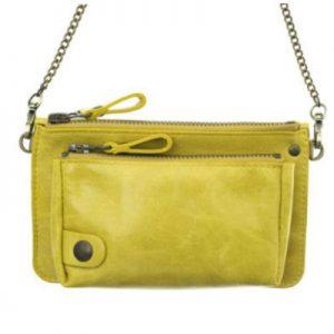 pochette bel air jaune-eber-specher-maroquineries