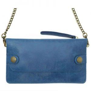 sac plaisance bleu cobalt -eber-specher-maroquineries