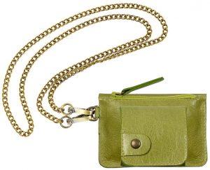porte monnaie gaity vert galerie-eber-specher-maroquineries