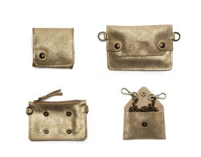 Porte monnaie cuir GAITY dore-eber-specher- maroquineries