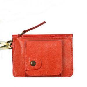 porte monnaie gaity rouge-eber-specher-maroquineries