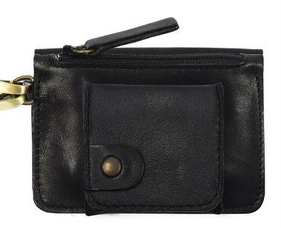 Porte monnaie cuir GAITY noir mat-eber-specher- maroquineries