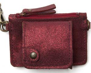 Porte monnaie cuir GAITY rubis-eber-specher- maroquineries