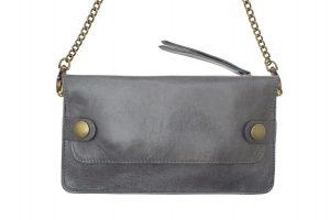 pochette plaisance cuir gris eber-specher-maroquineries
