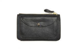 Portefeuille-cuir-KOMPACT-noir mat-galerie-eber-specher-maroquineries