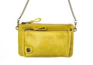 pochette bel air jaune eber-specher-maroquineries
