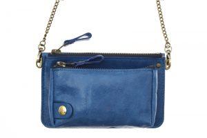 pochette bel air bleu cobalt eber-specher-maroquineries