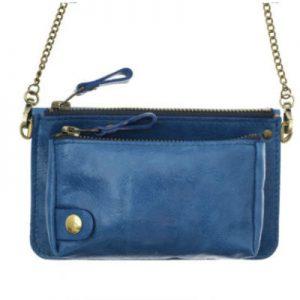 pochette bel air bleu cobalt-eber-specher-maroquineries