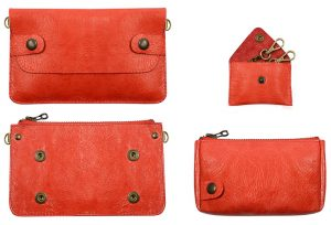 pochette bel air rouge- galerie-eber-specher-maroquineries