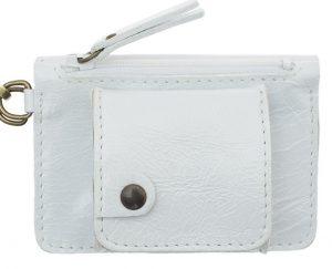 Porte monnaie cuir GAITY blanc-eber-specher- maroquineries