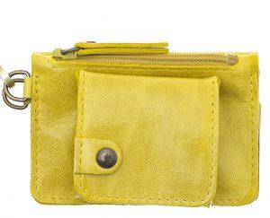 Porte monnaie cuir GAITY jaune-eber-specher- maroquineries