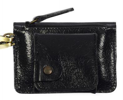 Porte monnaie cuir GAITY noir-eber-specher- maroquineries