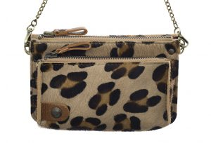 Pochette cuir BEL-AIR panthere-eber-specher- maroquineries