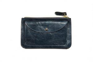 Portefeuille-cuir-KOMPACT-bleu canard-galerie-eber-specher-maroquineries