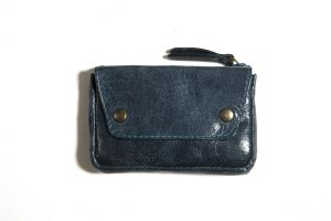 Porte-monnaie-cuir-taille-petite-bleu canard-galerie-eber-specher-maroquineries